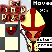 Play Real Bishop Puzzle game